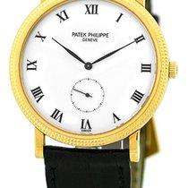 "Patek Philippe Gent's 18K Yellow Gold  ""Calatrava""..."
