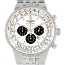 Breitling Navitimer Heritage Silver Dial Steel Mens Watch A35350