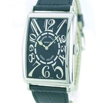 Franck Muller 1200 Long Island Automatic Watch with Black Dial