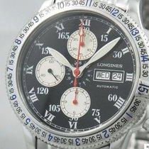 Longines Chronograph Lindbergh Automatik Glasboden Saphir Glas...