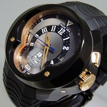 Franc Vila FVa 5 Universal Timezone GMT Rose Gold & PVD ...