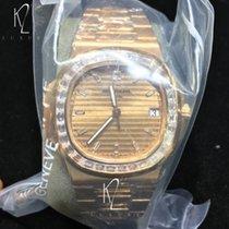 Patek Philippe Nautilus rose gold Baguette diamonds 5723