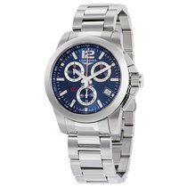 Longines Conquest Chrono Stainless Steel Men's Watch
