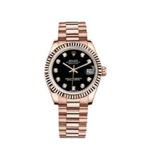 Rolex Date Just Rose Gold