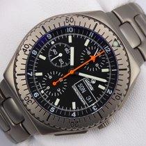 チュチマ (Tutima) Military Flieger Chronograph Titan - Lemania...