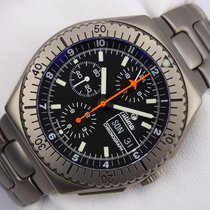 Tutima Military Flieger Chronograph Titan - Lemania 5100 ...