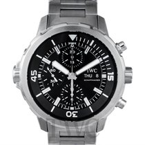 IWC Aquatimer Chronogarph Black/Steel 44mm - IW376804