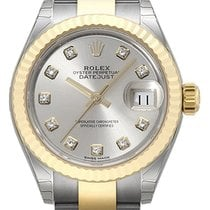 Rolex Lady-Datejust 28 279173 Silber Diamant
