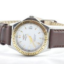 Breitling Sirius Perpetual Damen Uhr Quartz 28mm Stahl/gold...