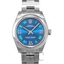 ロレックス (Rolex) Oyster Perpetual Midsize Blue/Steel Roman Ø31 mm...