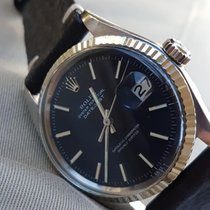 Rolex Datejust Oyster Perpetual Black dial w/red Stardust 1971...