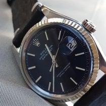 ロレックス (Rolex) Datejust Oyster Perpetual Black dial w/red...