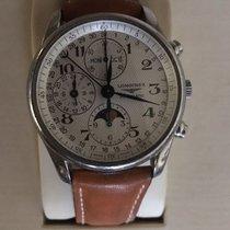 浪琴 (Longines) Moonphase Master Collection. Men's wristwatch.