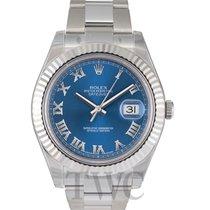 Rolex Datejust II Blue/Steel Ø41 mm - 116334