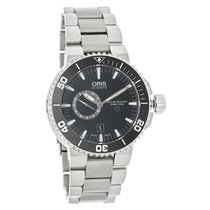 Oris Aquis Small Second Mens Swiss Automatic Watch 74376647154MB