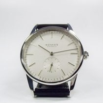 Nomos Glashütte Orion 306 weiß - Glasboden