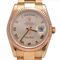 Rolex Day Date Presidential 118235 18k Pink gold Rose Oyster