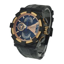 Concord 0320097 C1 Chronograph Mecha Tech in Black PVD and...