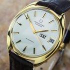 宇宙 (Universal Genève) 18k Solid Gold Jumbo Auto Swiss Watch...