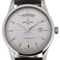 Breitling Transocean 43 White Dial Day Date