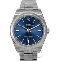 Rolex Perpetual 39 Blue/Steel 39mm - 114300