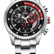 Swiss Military SM34042.03 Chronograph 10 ATM, 44 mm