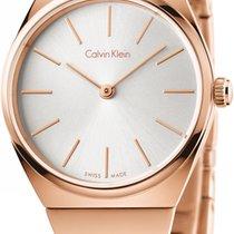 ck Calvin Klein Supreme K6C23646 Damenarmbanduhr flach &...
