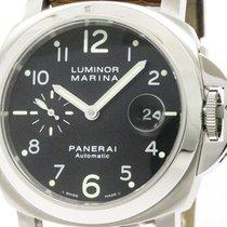 파네라이 (Panerai) Polished  Luminor Marina Steel Automaic Watch...