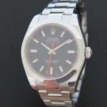 Rolex Oyster Perpetual Milgauss Black Dial