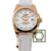 Breitling Galactic 29 Sahara Strap  Pink Gold Mother of Pearl...