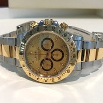Rolex Oyster Daytona Cosmograph Gold Steel 40 mm (Full Set)
