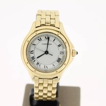 Cartier Cougar FULL18KYELLOWGOLD (BOX2000) 33mm MINT