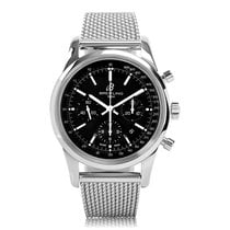 Breitling Transocean Chronograph Steel Automatic Mens Watch...
