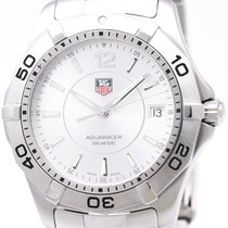 TAG Heuer Polished Tag Heuer Aquaracer Stainless Steel Quartz...