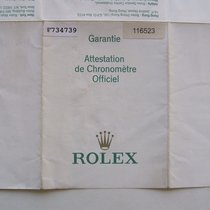 Rolex Libretto / Booklet per Daytona 116523