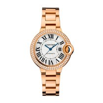 Cartier Ballon Bleu Automatic Ladies Watch Ref WE902034