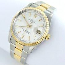 Rolex Date Herren  Uhr - Ref.15053 Stahl/gold Papiere