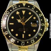 Ρολεξ (Rolex) 16753 Gmt Master Unpolished 18k & Stainless...