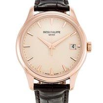 Patek Philippe Calatrava Rose Gold 39mm Men's Watch