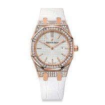Audemars Piguet Royal Oak Ladies Quartz Watch 67652OR.ZZ.D011C...