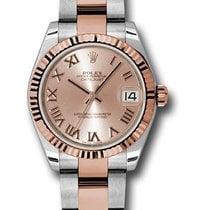 Rolex Unworn 178271pro Datejust 31mm in Steel with Rose Gold...