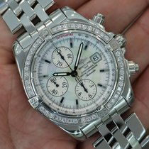 Breitling Windrider Chronomat Evolution Mop Diamonds A13356 -...