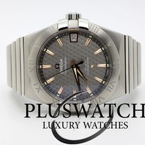 Omega Constellation Omega Co-Axial  38mm Grey Dial 3632