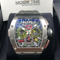 리차드밀 (Richard Mille) RM11-02 CHRONOGRAPH TITANIUM BIG DATE GMT...
