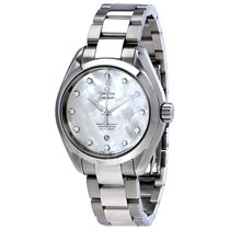 Omega 23110342055002 Seamaster Pearl Diamond Ladies Watch