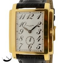 Patek Philippe Gondolo 5024j Solid 18k Yellow Gold 30mm Manual...