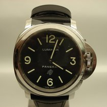 Panerai Luminor Base Logo Steel Mens Watch
