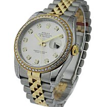 Rolex Unworn 116243mdj 36mm Datejust in Steel and Yellow Gold...
