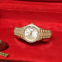 Rolex Datejust 69158 - Factory Diamond Set Box & Papers 1993