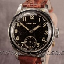 Longines Tre Tacche Military-style Step-case Original Black...
